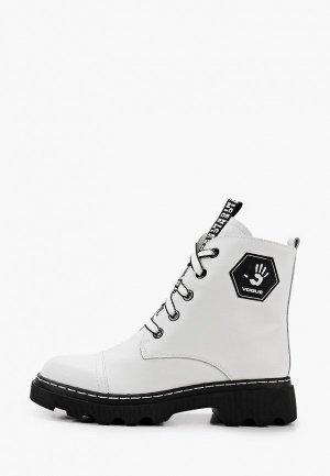 Ботинки Alessio Nesca. Цвет: белый