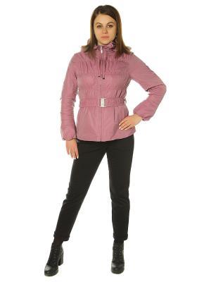 Куртка City Classic. Цвет: розовый
