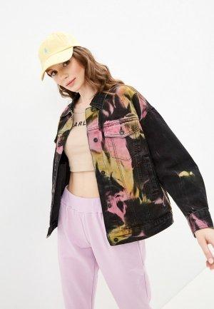 Куртка джинсовая Befree Exclusive online. Цвет: черный