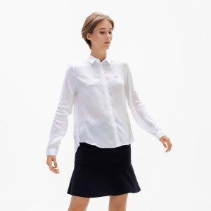 Рубашка Lacoate Lacoste. Цвет: белый