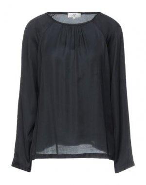 Блузка JEFF. Цвет: черный