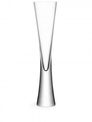 Набор Moya из двух бокалов-флейт LSA International. Цвет: белый