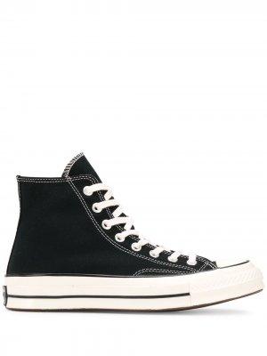 Высокие кеды на шнуровке Converse. Цвет: черный