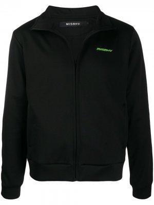 Спортивная куртка с логотипом Misbhv. Цвет: черный