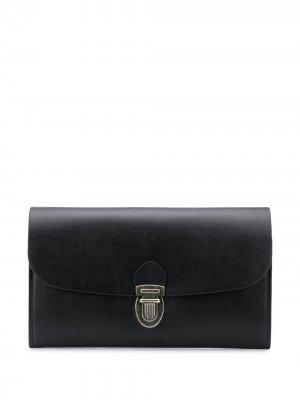Push-clasp wallet Ann Demeulemeester. Цвет: черный