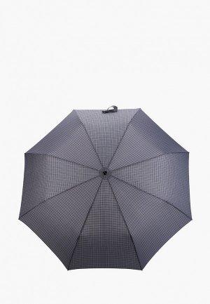 Зонт складной Doppler. Цвет: серый