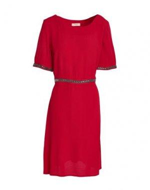 Короткое платье BA&SH. Цвет: красный