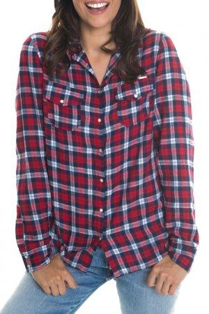 Рубашка BIG STAR. Цвет: красный