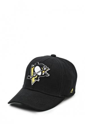 Бейсболка Atributika & Club™ NHL Pittsburgh Pinguins. Цвет: черный