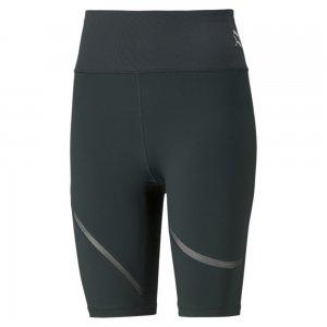 Шорты Exhale Mesh Curve Womens Training Bike Shorts PUMA. Цвет: зеленый