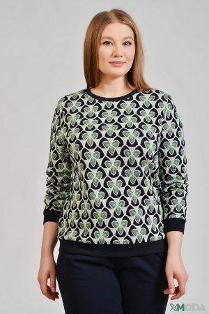 Пуловер Betty and Co. Цвет: зелёный