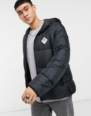 Черная стеганая куртка Ross-Черный цвет Barbour Beacon