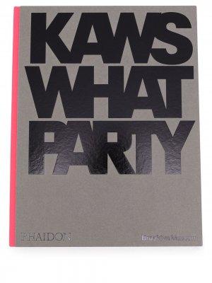Книга Kaws What Party. Цвет: серый