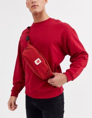 Красная сумка-кошелек на пояс Ulvo, 2 л-Красный Fjallraven