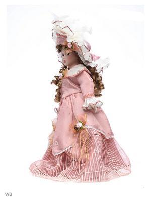 Кукла фарфор 16  Оделия Angel Collection. Цвет: розовый, белый