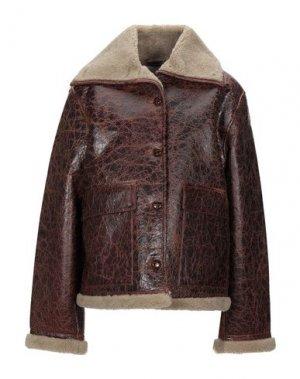 Куртка AMERICAN VINTAGE. Цвет: коричневый