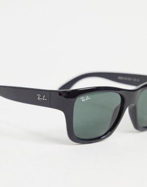 Черные квадратные солнцезащитные очки 0RB4194-Черный цвет Ray-Ban