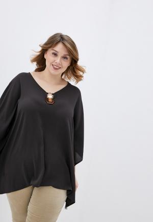 Блуза Elena Miro. Цвет: коричневый