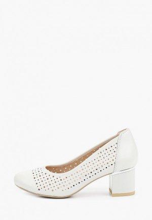 Туфли Caprice Увеличенная полнота, Comfort. Цвет: белый