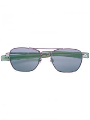 Солнцезащитные очки DL0219 Diesel. Цвет: зелёный