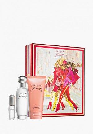 Набор парфюмерный Estee Lauder Pleasures,50 мл. Цвет: прозрачный