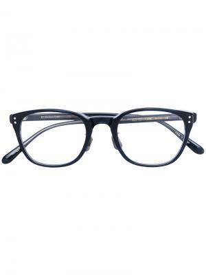Очки в квадратной оправе Eyevan7285. Цвет: чёрный