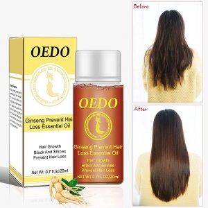 Эфирное масло для волос с женьшенем SHEIN. Цвет: хаки