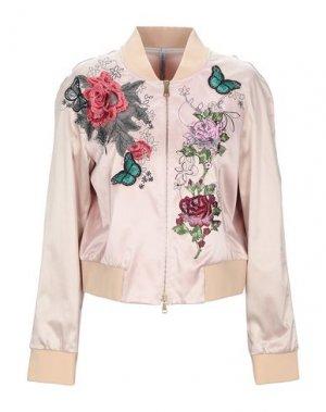 Куртка PIANURASTUDIO. Цвет: светло-розовый