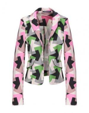 Пиджак ANDREA TURCHI. Цвет: зеленый