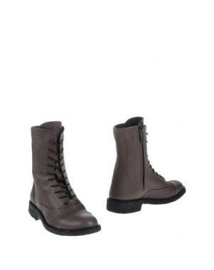 Полусапоги и высокие ботинки ANGULUS. Цвет: серый