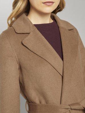 Пальто TOM TAILOR. Цвет: коричневый