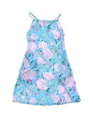 Пляжное платье ELIZABETH HURLEY. Цвет: розовый