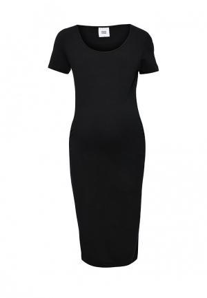 Платье Mamalicious. Цвет: черный