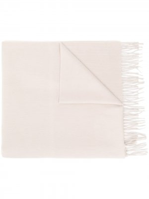 Кашемировый шарф с бахромой Begg & Co. Цвет: нейтральные цвета