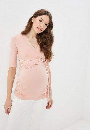 Футболка Dorothy Perkins Maternity. Цвет: розовый