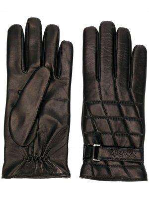 Стеганые перчатки Ermenegildo Zegna