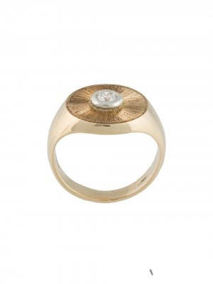 Кольцо с гравировкой Duffy Jewellery. Цвет: серебристый