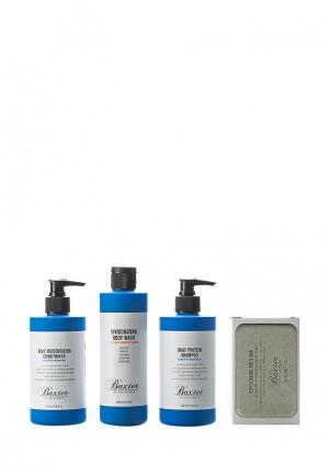 Набор для ванны и душа Baxter of California Shower Starter Kit. Цвет: прозрачный