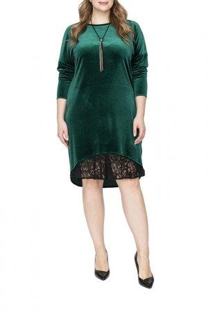 Платье La Via Estelar. Цвет: зеленый