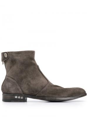 Ботинки Venere Alberto Fasciani. Цвет: серый