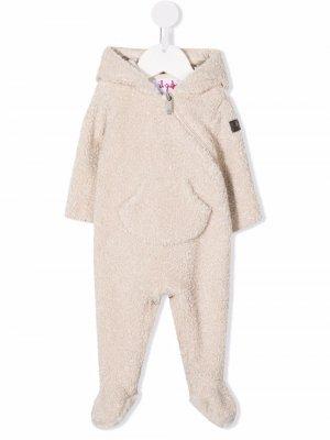 Пижама с ушками Il Gufo. Цвет: нейтральные цвета
