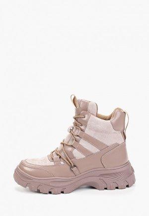 Ботинки Bona Dea. Цвет: розовый