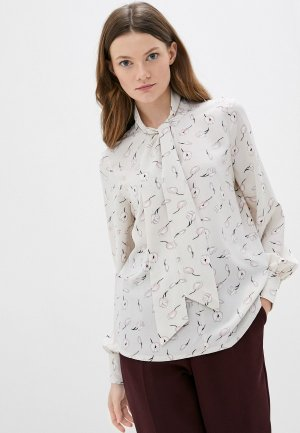 Блуза Kira Plastinina. Цвет: бежевый