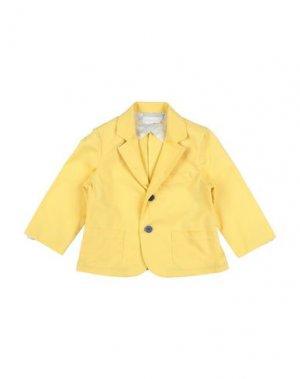 Пиджак BIMBALÒ. Цвет: желтый