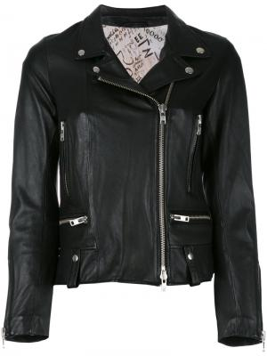 Байкерская куртка Impact S.W.O.R.D 6.6.44. Цвет: черный