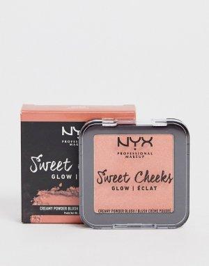 Рассыпчатые румяна Blush Glow NYX Professional Makeup