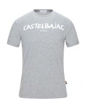 Футболка CASTELBAJAC. Цвет: светло-серый