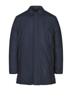 Пальто AQUASCUTUM. Цвет: синий