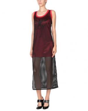 Длинное платье BOY LONDON. Цвет: красный