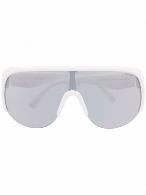 Солнцезащитные очки Phanthom Moncler Eyewear. Цвет: белый